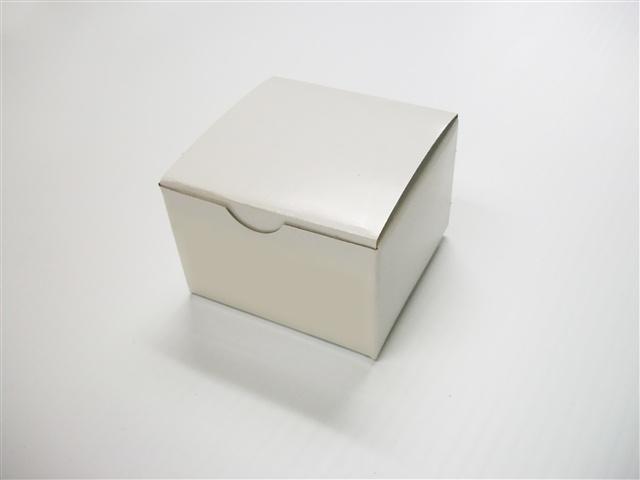 3x3x2 1 Pc White Gift Box